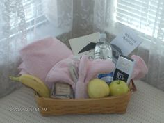 Gift Baskets For Guests