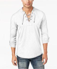 INC International Concepts Mens T-Shirt New S M L XL 2XL 3XL Blue Stripe Summer