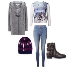 Wednesday outfit ideas: our Jodie Duffle Coat and Terri Jumper, #jbrand 620 Super Skinny, #woolandthegang Tartan Zion Lion Hat, #giuseppezanotti Boots.  http://www.oxygenboutique.com/Jodie-Duffle-Coat.aspx  http://www.oxygenboutique.com/Terri-Jumper.aspx  http://www.oxygenboutique.com/620-Mid-Rise-Super-Skinny-in-Suspence.aspx  http://www.oxygenboutique.com/Tartan-Zion-Lion-Hat.aspx  http://www.oxygenboutique.com/Cobain-Leather-Buckle-Boots.aspx  #ootd #fashion #lookoftheday #style…