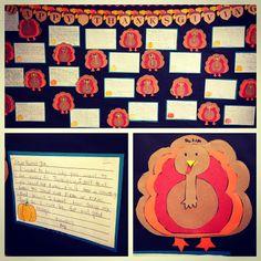 Thanksgiving Craft: A Turkey!
