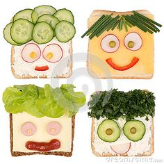 Easy Meals For Dinner:Easiest Ever & Creative Sandwich Making Easy Dinner Recipes, Baby Food Recipes, Kid Sandwiches, Sandwich Ideas, Kids Food Crafts, Creative Food Art, Creative Kids, Shapes For Kids, Edible Food