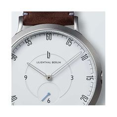 Lilienthal Berlin - The new watch from Berlin