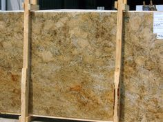 About :   Product Type:Slabs      Material:Granite  Because of its durability and longevity granite is great for heavily used surfaces such as kitchen countertops. Available in every color of the imagination, it has become one of the most popular stones on the market.    Product Colors:        Gold (intensity: very high)       Brown (intensity: low) | More kitchen remodeling ideas here: http://kitchendesigncolumbusohio.com/kitchen-ideas.html