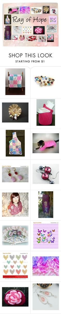 """""""Ray of Hope: Unique Etsy Gifts"""" by paulinemcewen ❤ liked on Polyvore #RayofHope"""