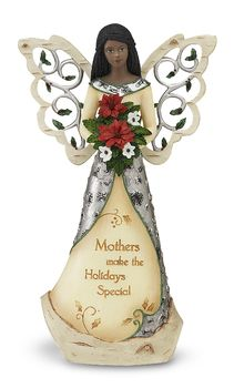 "EBN Mother, 9"" EBN Angel w/Bouquet - Holiday Elements - Pavilion Gift Company. $30"