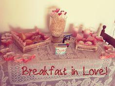 Café da manhã romântico de dia dos namorados!