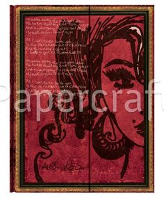 Paperblanks zápisník l. Amy Winehouse, Tears Dry ultra 2526-9