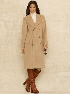 Need this!! It goes with the boots!!  Lady Polo Coat  RalphLauren.com