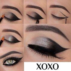 Qué te parece esta idea de #maquillajepara lucir una mirada que atrapa.
