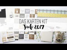 danipeuss.de Kartenkit | Juli 2017