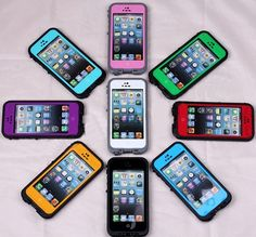 Crowd Favorite Life-Water-Snow-Dirt-Proof iPhone 4 & 5 Cases
