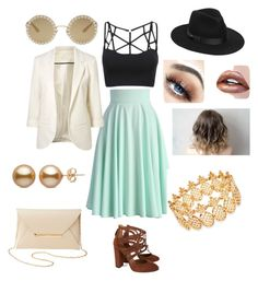 """""""Untitled #19"""" by allthecrazykidz on Polyvore featuring Chicwish, Aquazzura, Dolce&Gabbana, Lack of Color, INC International Concepts and Charlotte Russe"""