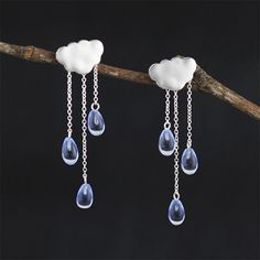 Find More Stud Earrings Information about Top Quality Handmade Genuine 925 Sterling Silver Jewelry Ethnic Cloud Long Tassel Earrings  New Arrival Women Accessories,High Quality earrings new,China 925 sterling Suppliers, Cheap earrings new arrival from Lotus-Silver Jewelry Handmade Studio on Aliexpress.com