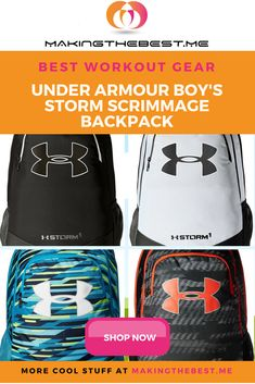 UNDER ARMOUR BOY S STORM SCRIMMAGE BACKPACK. Our tried-and-true duffle has  reached its third evolution and it just keeps getting better. Marked with  the ... 6f236a69f2