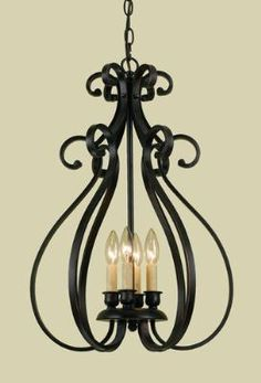 Modernized Rustic Iron Chandelier Large Chandeliers Shades Of - Black iron kitchen light fixtures