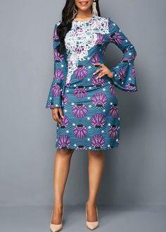 Look at this Fashionable modern african fashion Long Ankara Dresses, Ankara Dress Styles, African Dresses For Women, African Print Dresses, African Attire, African Fashion Designers, African Fashion Ankara, Latest African Fashion Dresses, African Print Fashion