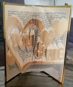 Love book folding you & me