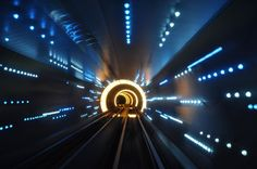 These Extraordinary Tunnels Look Like Gateways to Other Worlds Bund Sightseeing Tunnel, under the Huangpu River in Shanghai, China, opened in 2000