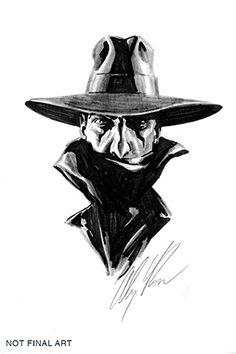 Dynamite® The Shadow Vol. 2 #1 Alex Ross Hand-Drawn Original Art Cover
