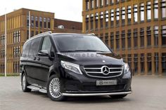 Metec CityGuard til Mercedes-Benz V-Klasse FrontGuard. Mercedes Benz, Vito, Vehicles, Cars, Design, First Class, Rolling Stock, Autos