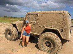 Mud + Jeep Girl (YEP - THAT BE ME)!