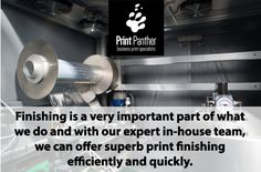 Finishing is a very important part of what we do and with our expert in-house team, we can offer superb print finishing efficiently and quickly.  #printfinishing #oakvilleprint