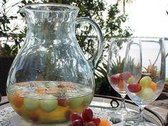 Ponche de Vino Blanco y Frutas - Que Rica Vida