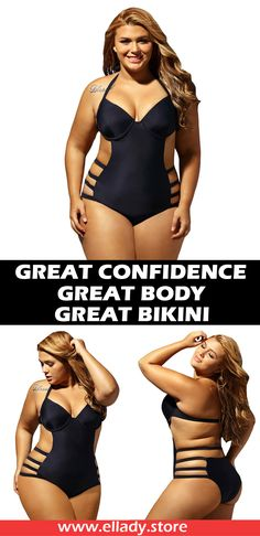 Get into the summer style in this 2017 plus size swimwear! Make sure to add this to your collection, it definitely is a must have!#women fashion