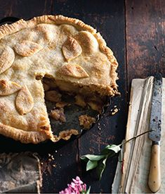 Yolan's Apple Pie is pretty straightforward, except for the first step of stewing the apples and the schmear of strawberry jam on the bottom half of the crust, enhancing the depth of the fruity flavor. While the recipe calls for homemade dough, feel free to substitute store-bought pie crust. The recipe's author, Merelyn Chalmers, remembers her mother serving the pie with cognac-laced whipped cream. In a nod to Rosh Hashana and an extension of the apple theme, use an apple brandy like…