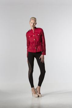 The @ bonniebling Wax Jacket. http://spencerclothing.com