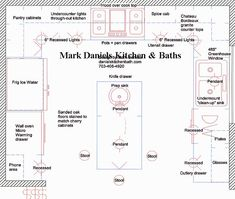 Sample Design Specs Are Fun To Read Kitchen Layout Planskitchen Layouts