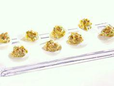 Get Giada De Laurentiis's Eggs Benedict Deviled Eggs Recipe from Food Network