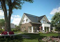 Die Variante des WOHNIDEE-Hauses 2013 ist auch in der eingeschossigen Bauweise ein echtes Schmuckstück.  zweigeschossige Bauweise