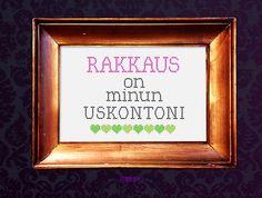 Rakkaus on minun uskontoni. Kuvitus: Riikka Kurki / Yle Kioski. #quotes #rakkaus #uskonto #huoneentaulu