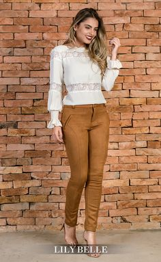 Business Casual Outfits, Classy Outfits, Fall Outfits, Fashion Outfits, New Look Fashion, Autumn Fashion, Trousers Women Outfit, Corporate Attire, Outfit Combinations