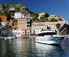 Hydra Greece - is a special island as there is no mechanised transport. Donkeys