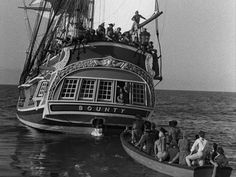 Mutiny on the Bounty 1962. HMS Bounty. Lost to Hurricane Sandy in 2012.