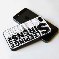 Sleeping with sirens Protective case for iPhone and