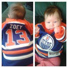 Zoey! | #Oilers - Regan Tattersall
