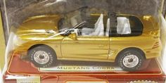 "Matchbox Premiere Ford Mustang Cobra Gold  "" Free Shipping!!!"""