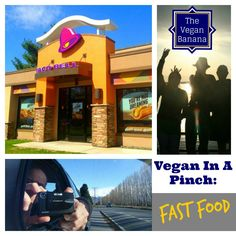 """Your """"Vegan In A Pinch"""" series helps vegans to find food at the last minute. Because you can't plan for everything. This episode... Fast Food Basics!"""