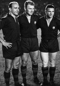 Di Stefano, Kubala & Puskas - F.C. Barcelona