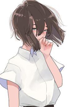 ♡ Little kun Kawaii Anime Girl, Anime Art Girl, Manga Girl, Anime Girls, Manga Anime, Anime Demon, Image Manga, Anime Scenery, Manga Drawing