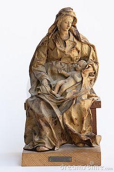 Madonna papier mache statue by Guarant, via Dreamstime