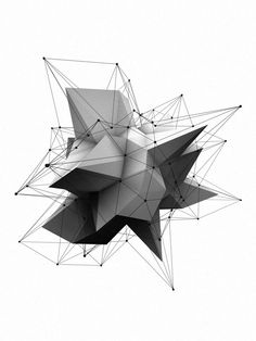 polygon geometric simple complex behance contrast shape shapes geometry low designs polygons rough polygone bit poly inspiration 3d kunst texture