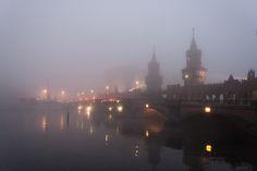 Stroll through foggy #Berlin, #Germany