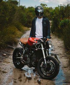 Ducati custom cafe racer
