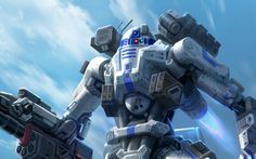 R2 D2 reimagined. see more at CG+ #StarWars