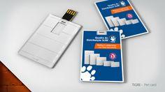 Pen Card, para Tigre: Desenvolvimento de Material Promocional.