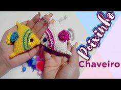 Crochet Fish Patterns, Crochet Patterns Amigurumi, Crochet Designs, Crochet Toys, Newborn Toys, Crochet Keychain, Amigurumi Tutorial, Book Markers, Freeform Crochet